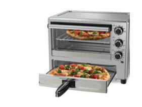 Win an Oster Convection Oven with Dedicated Pizza Drawer
