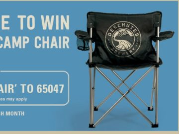 Win Two Deschutes Brewery Camping Chairs (Select States)