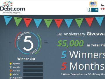 Win a $1,000 Cash!