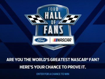 Ford VIP Experience Sweepstakes