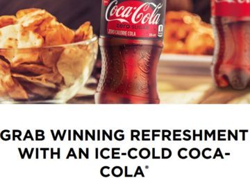 Coca-Cola 2018 with Compass and Canteen Instant Win Game