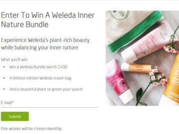 Weleda Inner Nature Bundle Sweepstakes