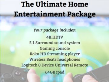 Ultimate Home Entertainment System Sweepstakes