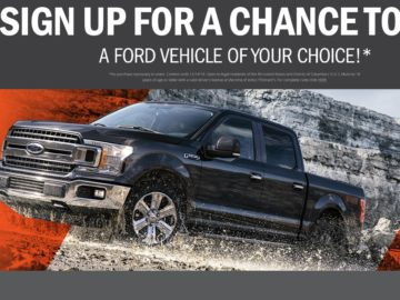 2018 Ford Vehicle Sweepstakes