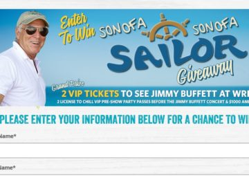 Margaritaville Son of a Son of a Sailor Giveaway Sweepstakes