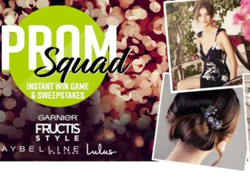 Garnier Prom Squad Instant Win Game & Sweepstakes