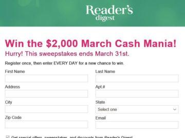 Win $400 Cash