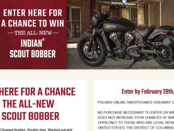 Polaris Online Sweepstakes