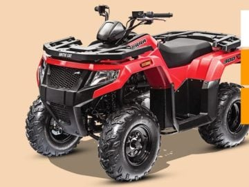Win a Precision Artic Cat Alterra 300 ATV
