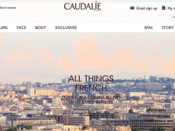 Caudalie All Things French Giveaway Sweepstakes