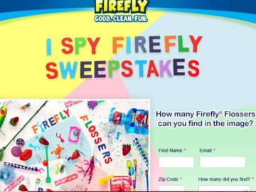 The I SPY FIREFLY Sweepstakes (Facebook)