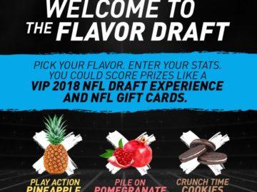 Dannon Oikos Flavor Draft Sweepstakes