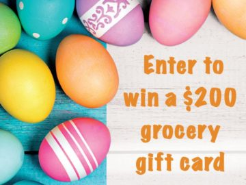 Win a $200 Grocery Gift Card (Facebook)