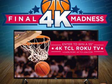 Win a TCL 4K Roku TV