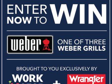 Win a Weber Grill (Facebook)