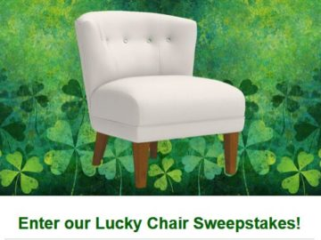 La-Z-Boy Lucky Chair Sweepstakes