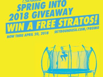Win an Outdoor Trampoline!