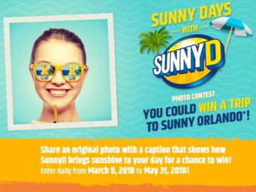 Sunny Days with SunnyD Photo Contest (Photo Upload)