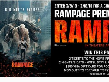 """Tillys x """"Rampage"""" Sweepstakes"""