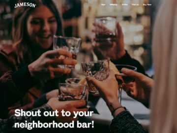 Jameson Love Thy Neighborhood Bar Sweepstakes