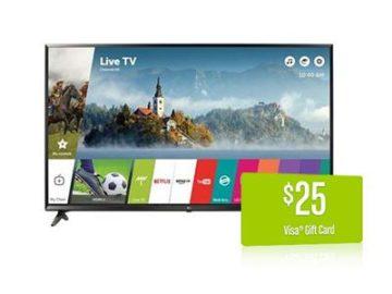 Win a LG 65-Inch 4K Ultra HD Smart LED TV