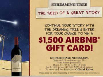 Dreaming Tree Getaway Sweepstakes