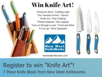 "New West Knifeworks ""Knife Art"" Giveaway Sweepstakes (Facebook)"