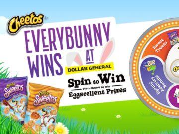 Cheetos EveryBunny Wins Game