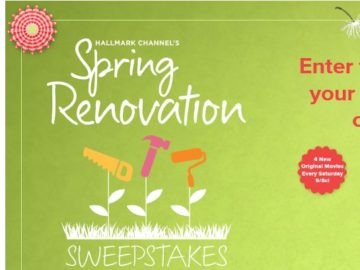Hallmark Channel Spring RenovationSweepstakes