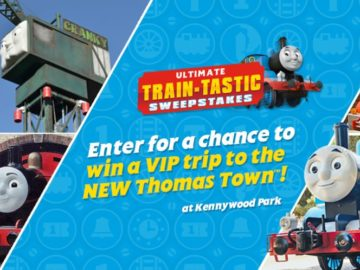 Thomas & Friends Ultimate Train-Tastic Sweepstakes (Photo Upload)