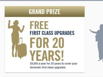 Upside Business Travelers Dream Sweepstakes