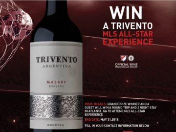 "Trivento ""MLS All-Star Experience"" Sweepstakes"