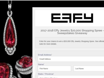 Win a $20,000 Effy Jewelry Shopping Spree