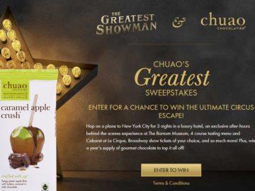 Chuao Chocolatier Chuao's Greatest Sweepstakes