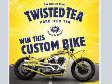 Win a Twisted Tea Custom Motorcycle