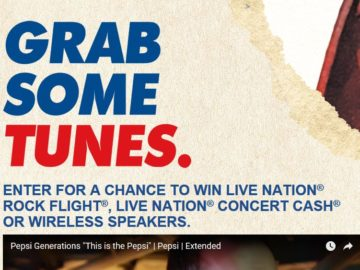 PepsiTunes Workplace Music Sweepstakes and Instant Win Game