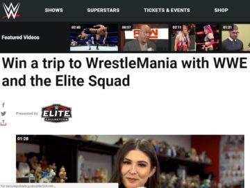 #WWEEliteSquad WrestleMania Sweepstakes