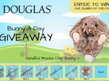 Douglas Toys Bunny-A-Day Giveaway Sweepstakes