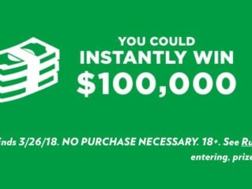 $100,000 Grand in Your Hand from Sprite and Popeyes