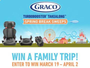 Graco TurboBooster TakeAlong Spring Break Sweepstakes