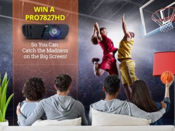 Win a ViewSonic Pro7827HD Projector