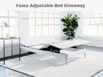 Win a Yaasa Adjustable Bed