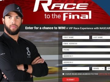 Cobra Race to the Final Sweepstakes