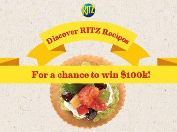 Win $100,000 Cash from Ritz Crackers!