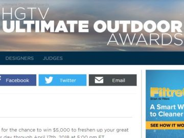 HGTV Ultimate Outdoor Sweepstakes