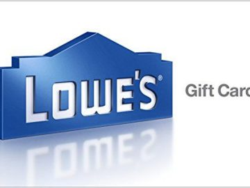 Win a $100 Lowe's Gift Card