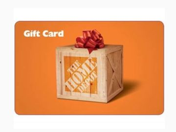 Win a $500 Home Depot Gift Card