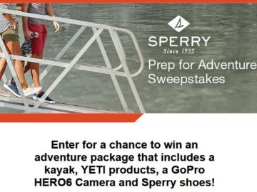 Sperry Prep for the Weekend Sweepstakes