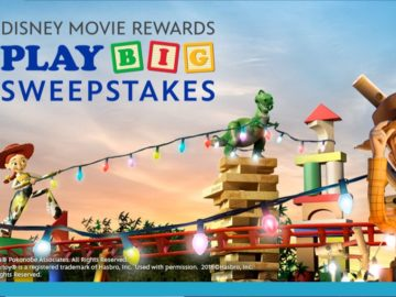 Disney Movie Rewards Play Big Sweepstakes