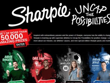 Sharpie Uncap The Possibilities Instant Win Game (Code Required)